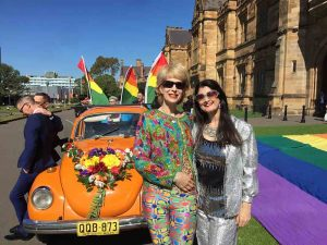 Rainbow Campus at Sydney Uni hosts protest marriage equality ceremony