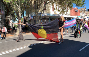 Trans People March in Sydney for Trans Day of Visibility