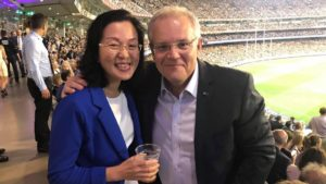 Gladys Liu Voted Liberal Senator for Chisholm Has  History of Intersexphobia and Transphobia