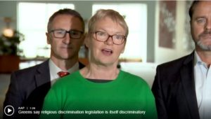 Greens Raise Concerns About Proposed Religious Discrimination Bill